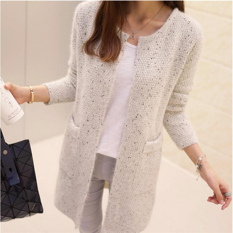 2019 Wholesale FEITONG Women Winter Coat Long Cardigan Fashion Autumn  Winter Sweater Cotton Elastic Twist Knitted Long Sleeve Cashmere Cardigan  From Pamele bf04cbab6