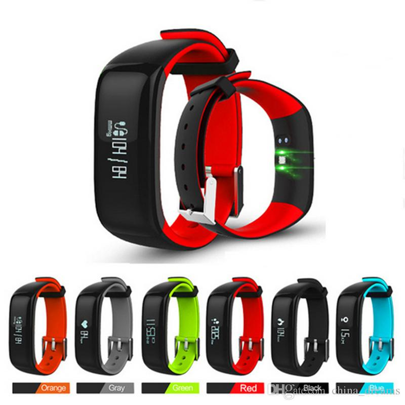pp pressure wristband for watches pedometer blood band fitness activity monitor smartband bracelet smart tracker