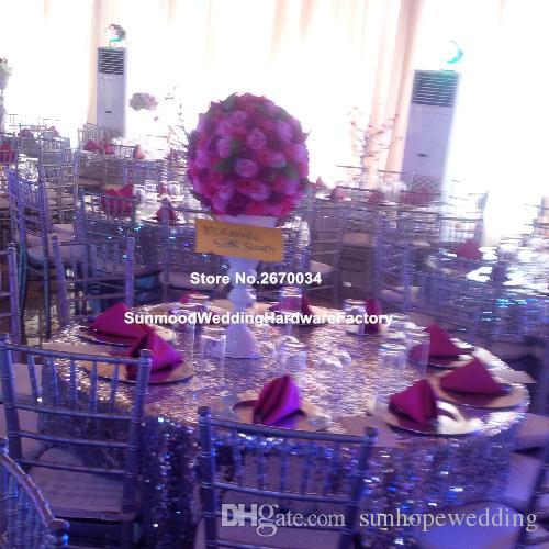 Düğün için yuvarlak uzun trompet toptan Çin zihinsel silindir vazo