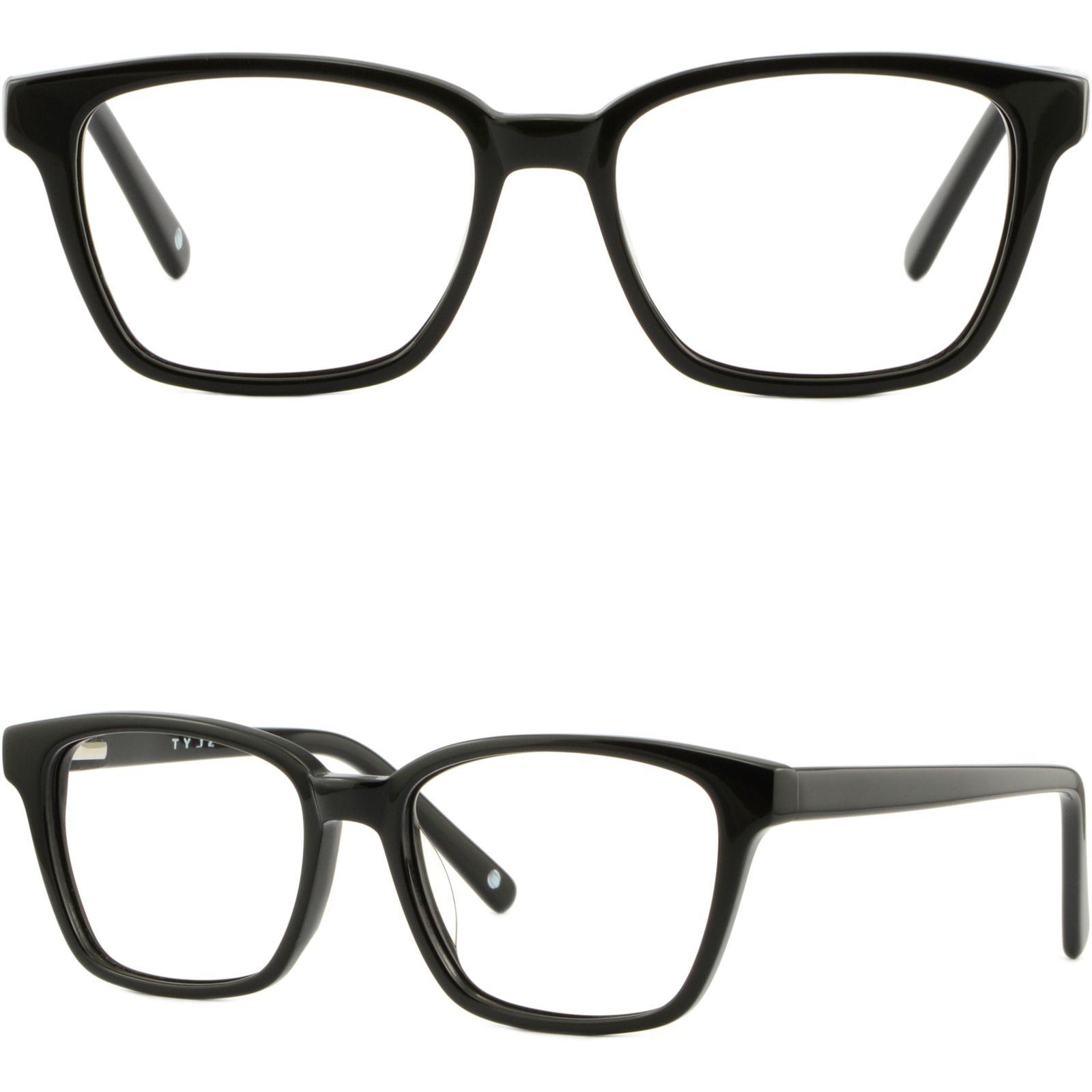 square teens women plastic frame spring loaded hinges glasses black prodesign eyeglass frames rimless eyeglass frames for women from aceglasses