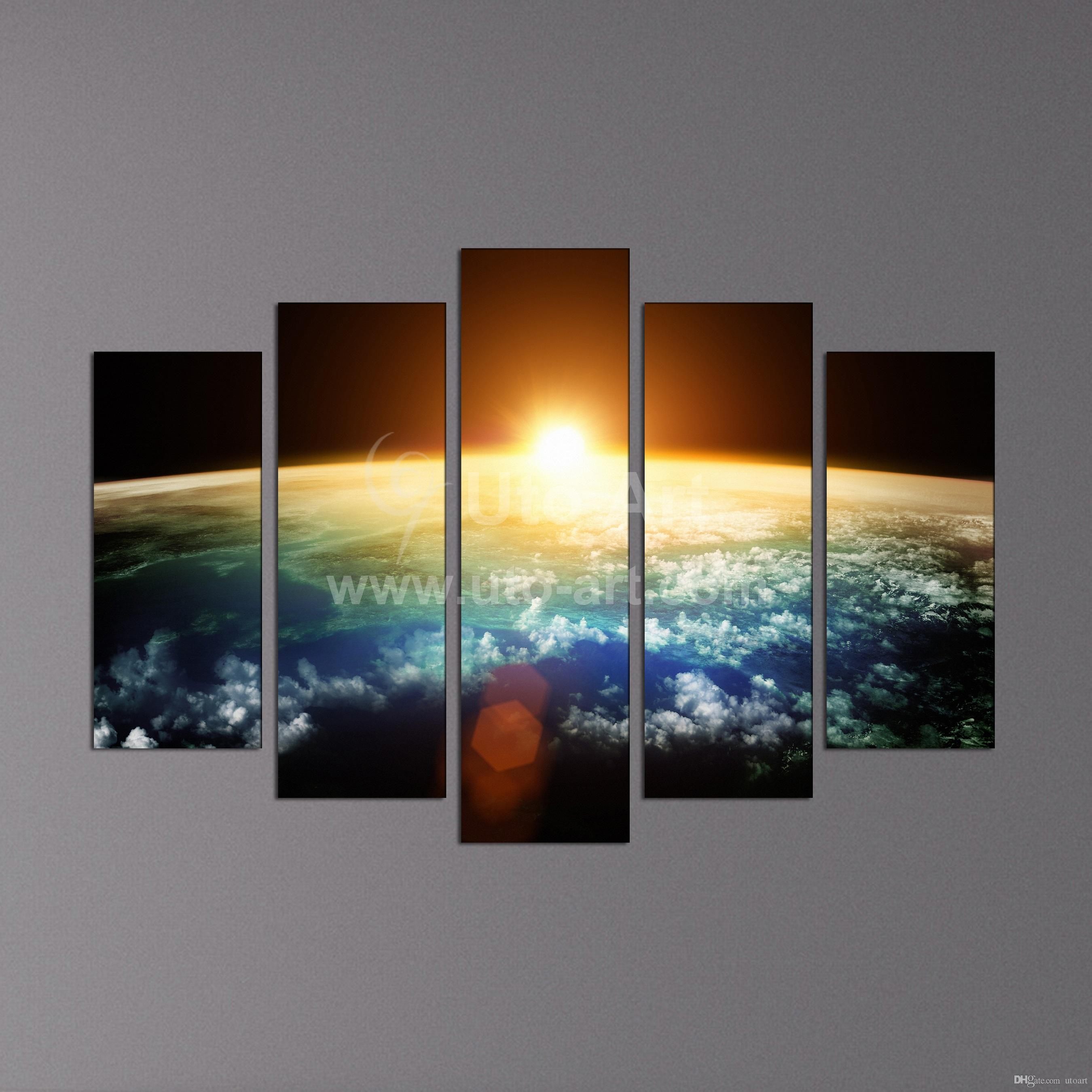 2018 Hot Sell Sunrise Modern Home Wall Decor Canvas Picture Art Hd Print  Painting Set Of 5 Each,Canvas Arts Painting From Utoart, $15.97 | Dhgate.Com