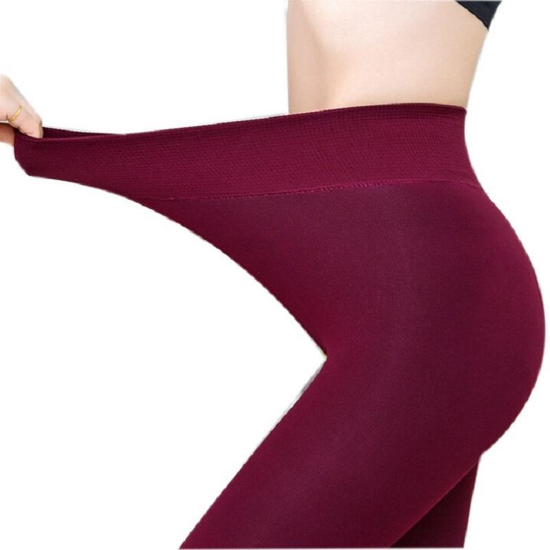 6d28f6588278 2019 New Women Casual Winter Pants Thick Bottoms Warm Leggings Lady Pants  Women Fleece Pants   Capris Velvet Trousers For Woman G0528 From Akaya