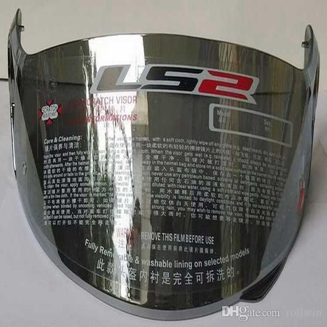 Casco de la motocicleta del visera Montaje de .Ls2 FF370, FF386, FF394 Modelo Casco PartsShield