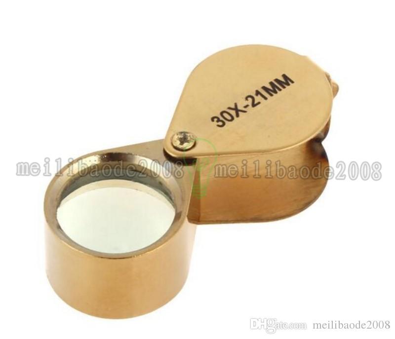 NEW Golden Triplet Eye Magnifier Power 30X-21mm Jeweler's Loupe MYY