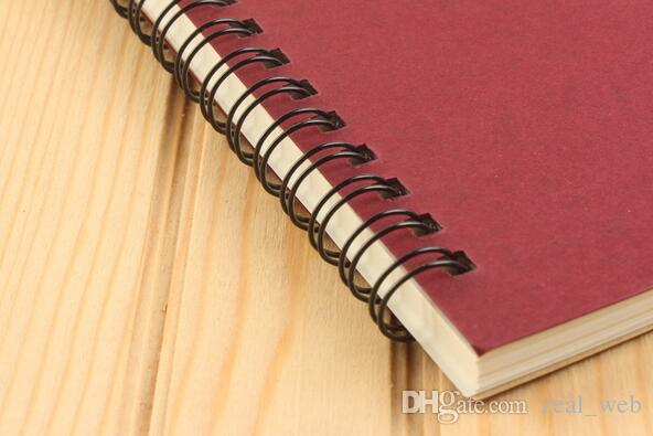 2017 new school spiral notebook Erasable Reusable Wirebound Notebook Diary book A5 paper Subject College Ruled custom logo 7