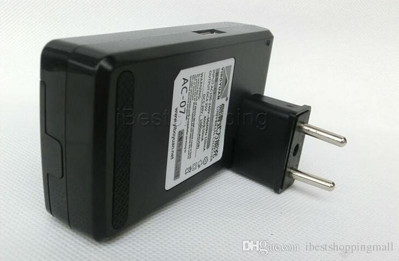 유니버설 지능형 LCD 표시 배터리 충전기 삼성 S4 I9500 S3 I9300 주의 USB 출력 충전 미국 EU 플러그 3 S5