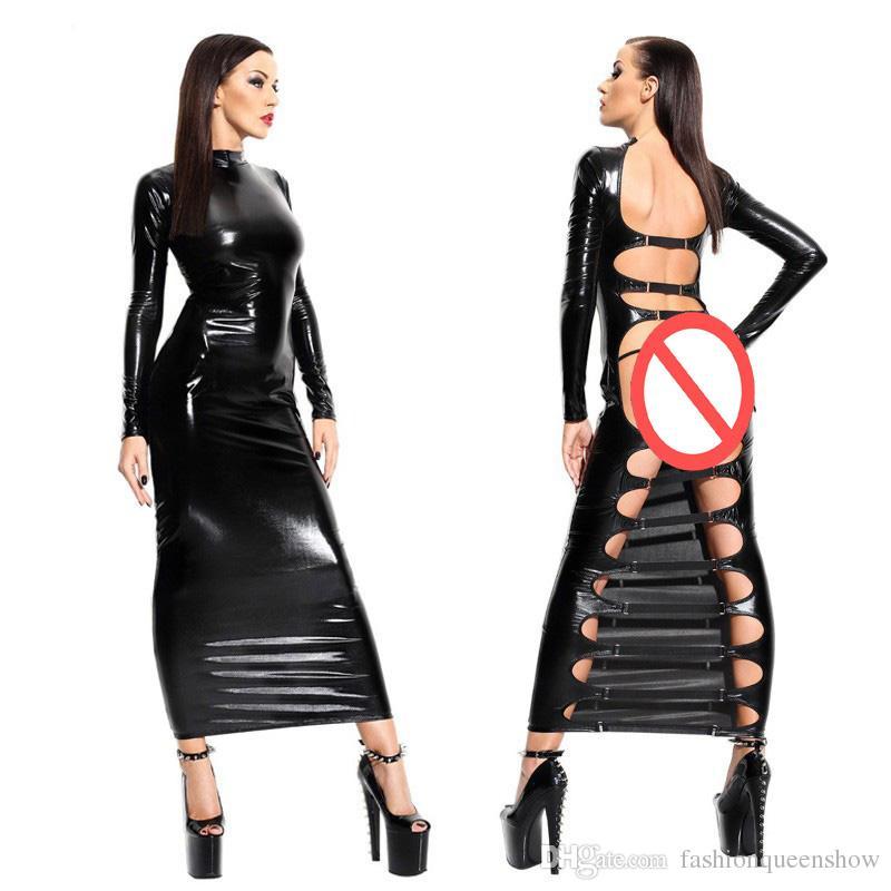 sheath bondage Leather