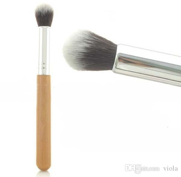 Hot Selling Pro Cosmetic Brush Set Synthetic Makeup Brushes Kit Bamboo Handle Make Up Toiletries Brush Tools