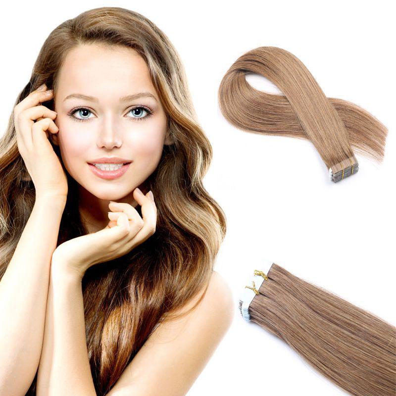 Big Sale Tape In Hair Extensions 16 26inch Brazilian Virgin Human
