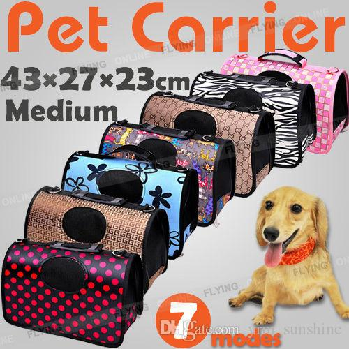 Pet Carrier Dog Cat Puppy Folding Travel Carry Bag Portable Cage ... 048b128701c6