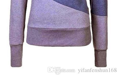 Sıcak! Ekleme kadınlar uzun kollu gömlek kadın hoodie erkekler ve kadınlar için Unix formaları