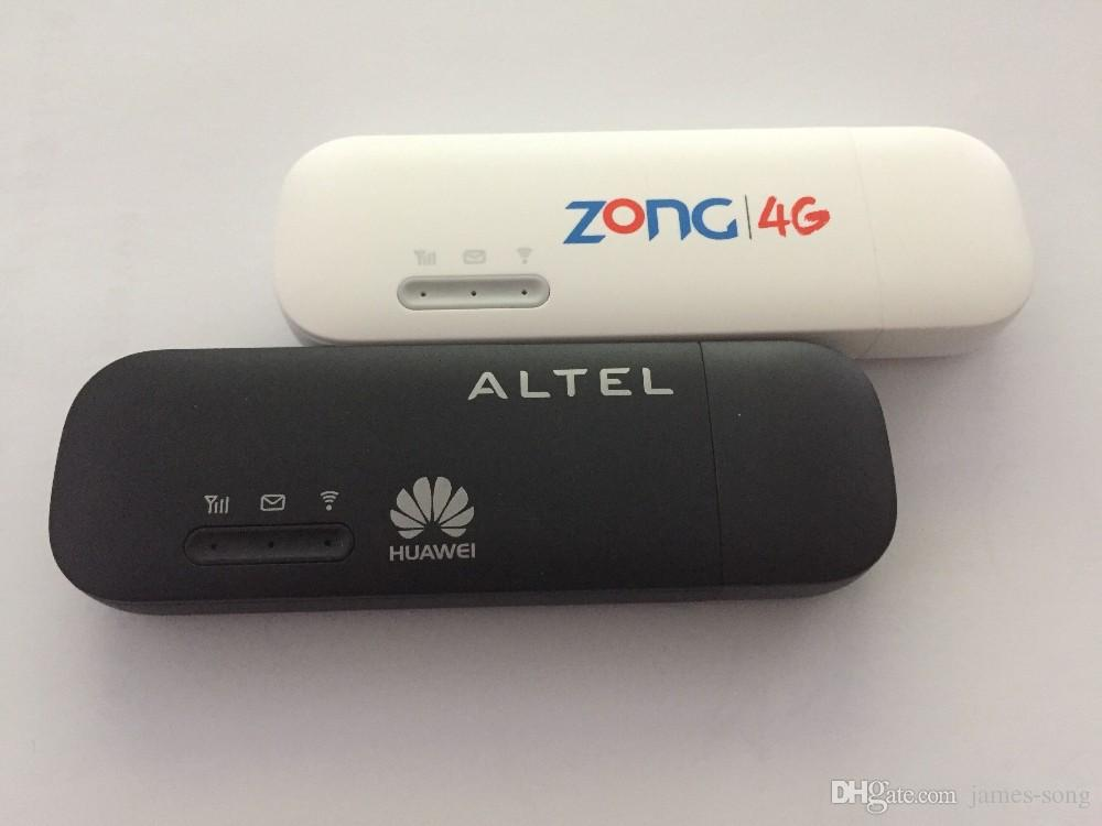 Wholesale- Unlocked huawei E8372 150Mbps Wireless Modem 4G Wifi 4G LTE Wifi Dongle LTE Modem