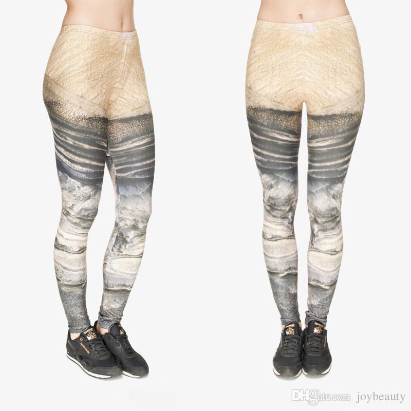 Frauen Leggings Mars 3D Grafik Voller Druck Dame Dünne Stretchy Casual Yoga Tragen Hosen Gym Fitness Mädchen Workout Capris Hosen Neue J31759