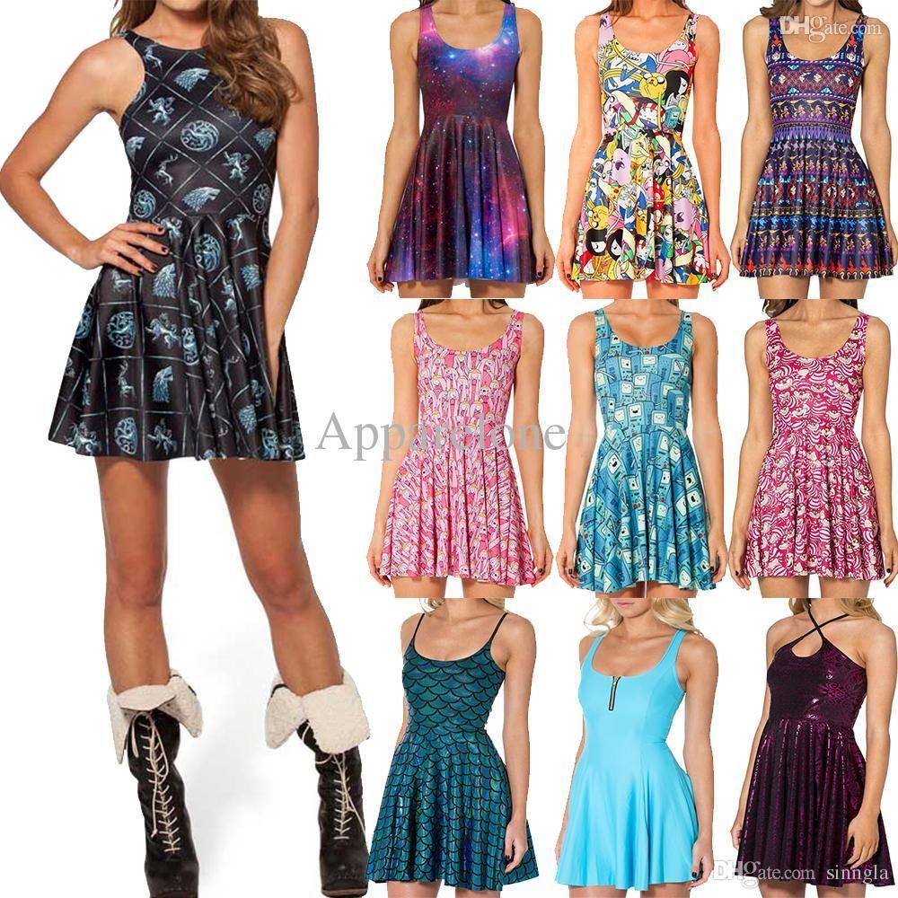 Wholesale Black Milk Clothing Summer Dress 2015 Game Of Thrones