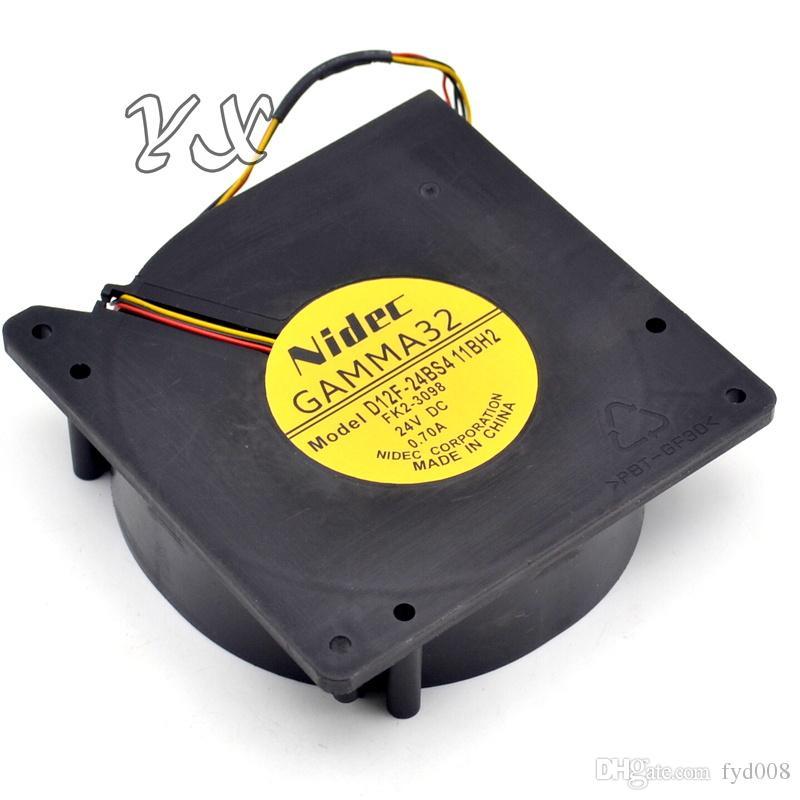 Воздуходувки D12F-24BS4 12CM 12032 24V 0.70 A turbo для nidec 120*120*32mm