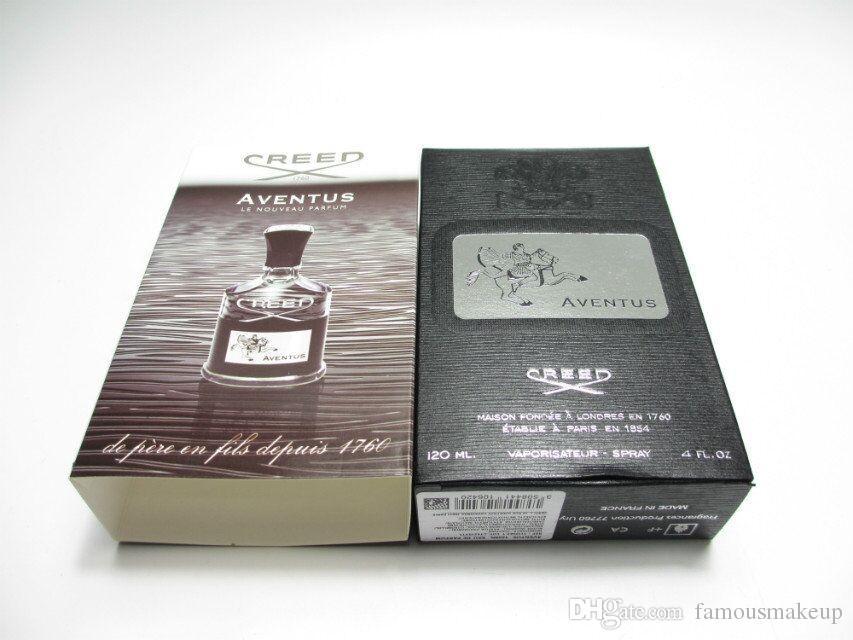 New Creed Aventus Parfüm für Männer 120ml mit lang anhaltender Zeit gute Qualität hoher Duft Capactity Freies Verschiffen