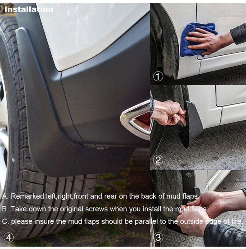 Splash Guard Car >> Brand New For Chevrolet Sail 3 2015 High Quality Abs Mud Flaps Splash Guards Car Fender Mudguard Car Exterior Decorations Car Exterior Lights From