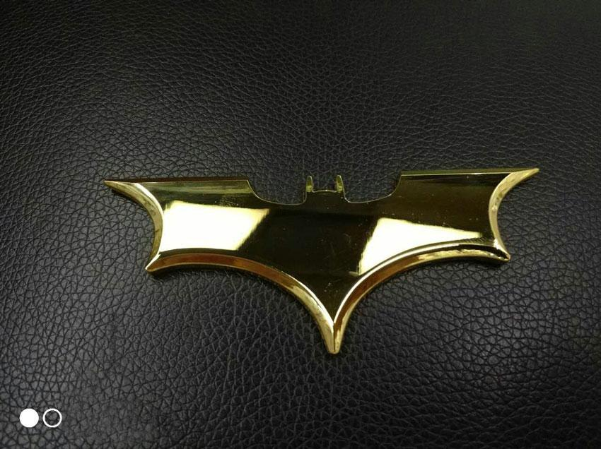Car styling 3D Cool Metal Bat Auto Logo Car Stickers Metal Batman Badge Emblem Tail Decal Motorcycle Vehicles Car Accessories