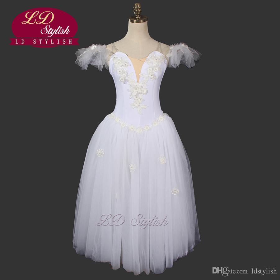 894787a193faa Compre Tutu Romântico Ballerina Dress Ld0006d Fada Ballet Tutu Desgaste Da  Dança Trajes De Balé Adultos Ballet Tutu Dress De Ldstylish, $150.76 |  Pt.Dhgate.