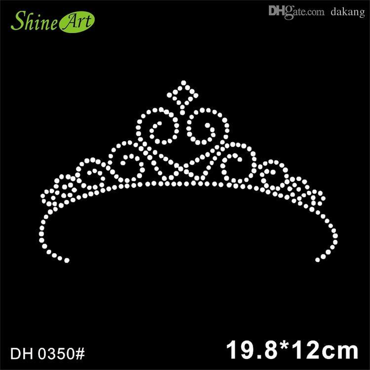 Custom Bling Rhinestone Heat Transfer Crown Design in Different Colors DIY  DH0350  Rhinestone Motif Hotfix Rhinestones Rhinestone Transfers Online  with ... c9ff79a7dee6