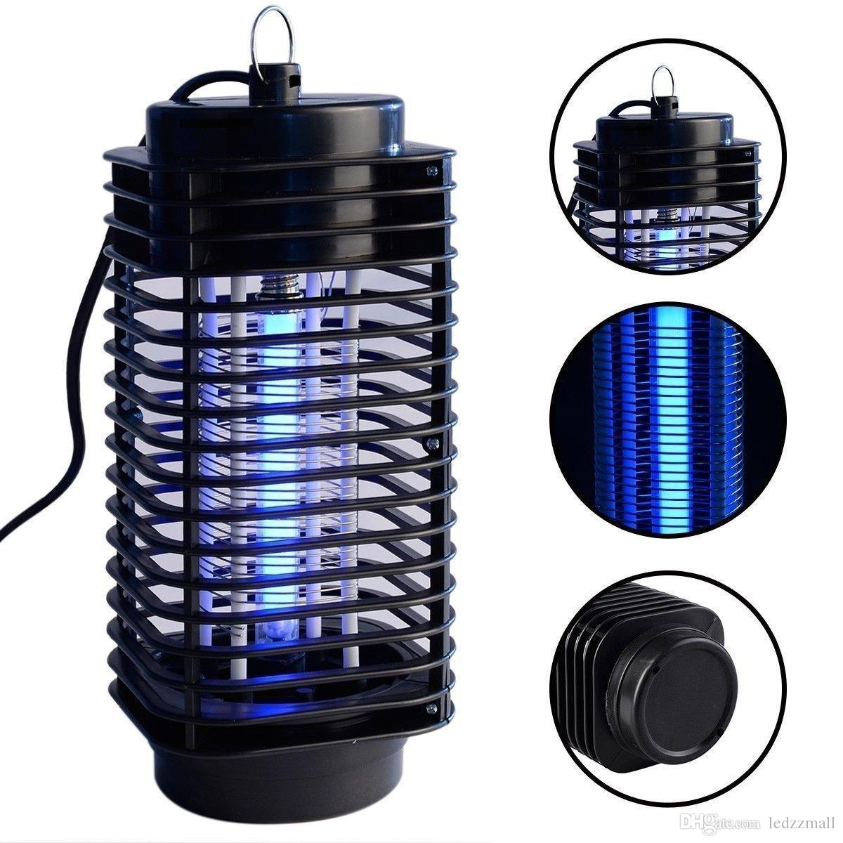 2018 110v 220v Electric Mosquito Bug Zapper Killer Led Lantern Fly Catcher  Flying Insect Patio Outdoor Camping Lamp Portable Lantern Night Light From  ...