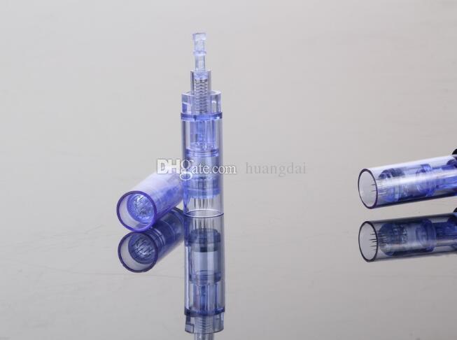 Cartuchos da agulha de 1/3/5/7/9/12/36/42 / Nano para os cartuchos ajustáveis da agulha de Dr.Pen Derma Pen com embalagem de varejo