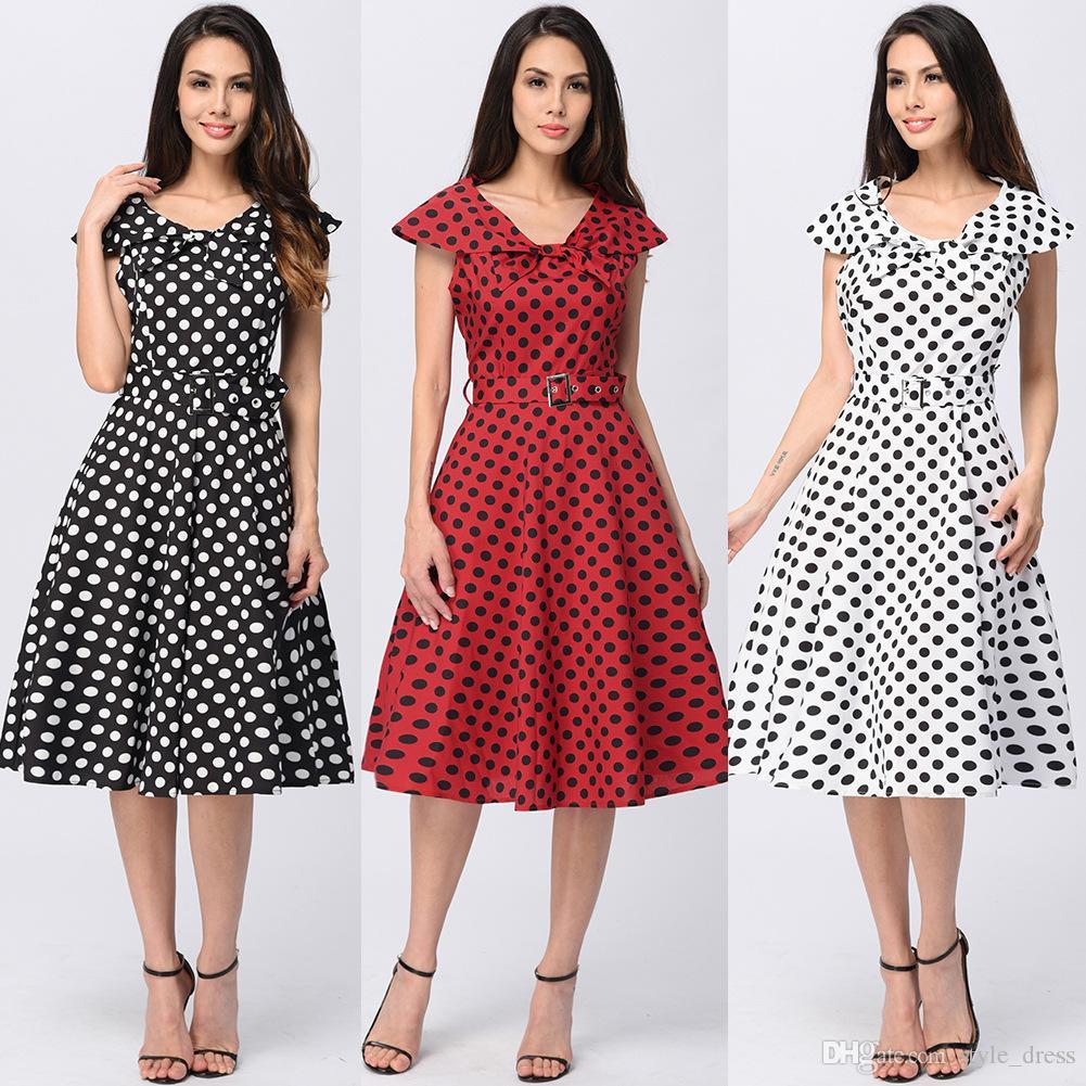 Vintage 50s Red Dress