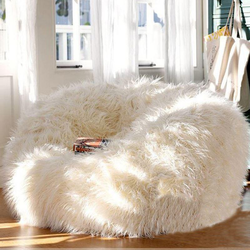 2018 Lounger Size Bean Bag Cover Sofa Chairs Seat Living Room Furniture  Without Filling Beanbag Beds Lazy Seat Zac From Kenna456, $132.67 |  Dhgate.Com