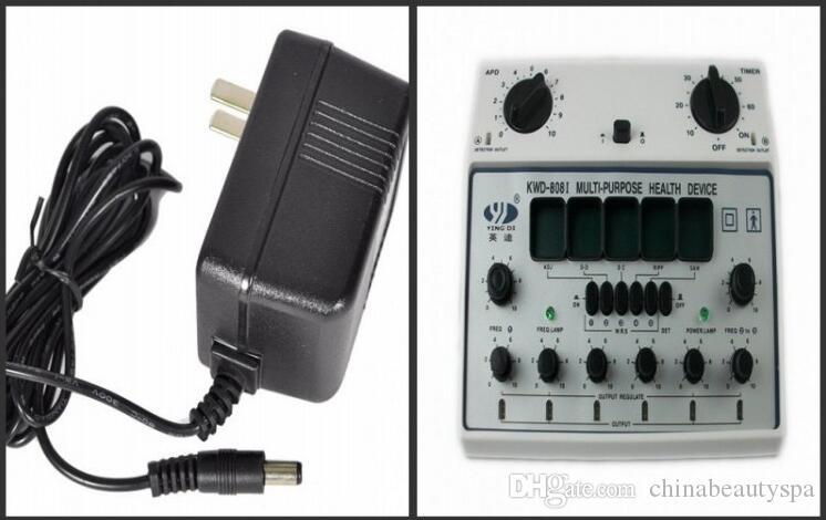 6 Ausgangskanäle Akupunktur-Maschinen-elektrischer Körper-Massage-Massager KWD 808 I Heißer Verkauf Freies Verschiffen