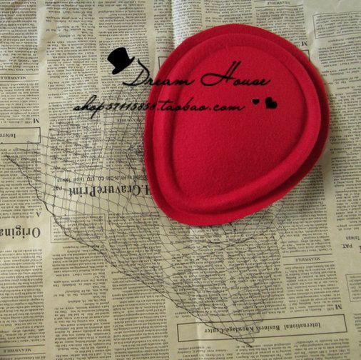 Capelli copricapo donna Stasera donna aiutare francese Hepburn Vintage capelli europei nero velo Nick piccolo copricapo copricapo capelli