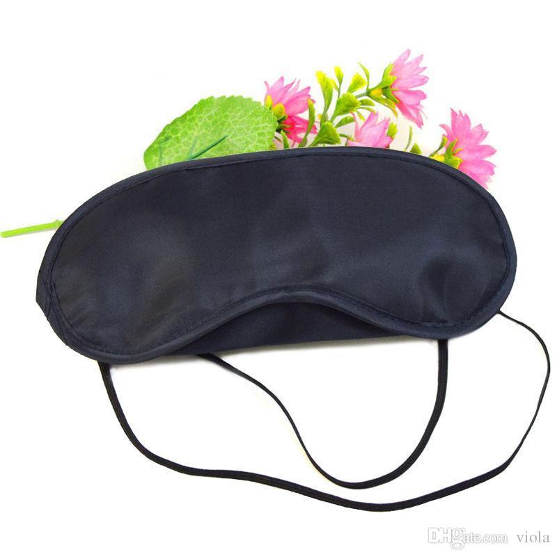 black sleeping eye mask Travel Eye Mask Sleep Sleeping Shade Cover Nap Light Soft Rest Blindfold