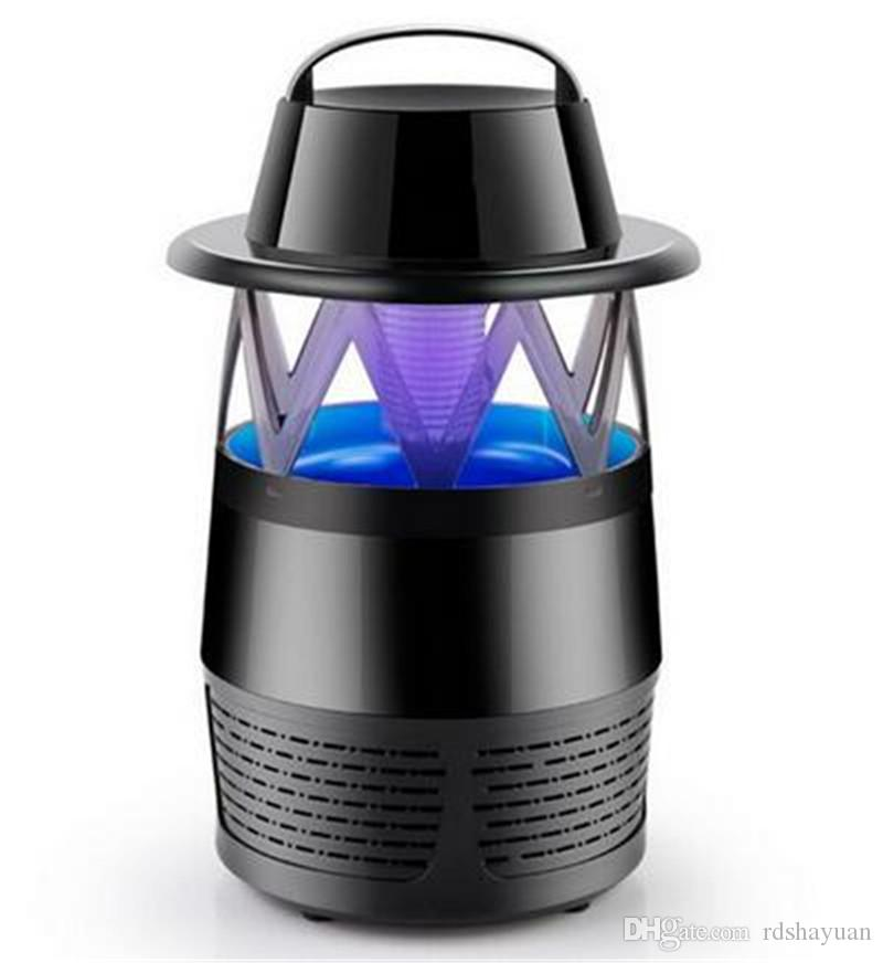 Electrical Mosquito Killer Uv Led Fly Zapper Silent Indoor Night