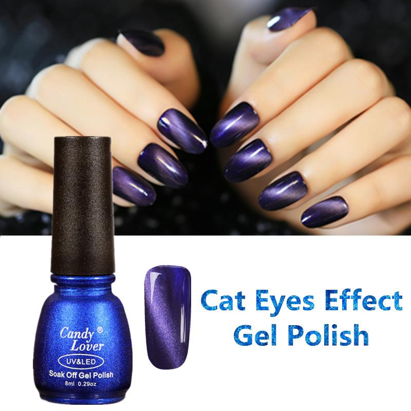 Wholesale Candy Lover Cat Eye Uv Gel Nail Polish With Magnet Stick ...