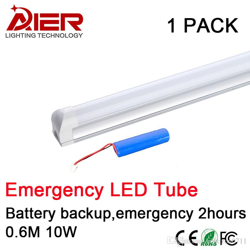 Emergency Led Tube T8 Integrated 600mm 10w Battery Backup