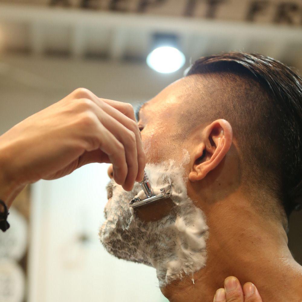 Weishi mariposa afeitadora de la afeitadora de doble borde de la maquinilla de seguridad con girar la aleación de cobre de rotación 9306-g /