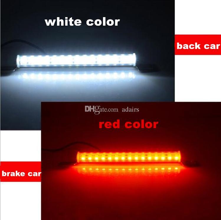 مساعدة ضوء الفرامل ضوء السيارة الخلفي ضوء أضواء لوحة ترخيص DC 12V 15W لجميع السيارات