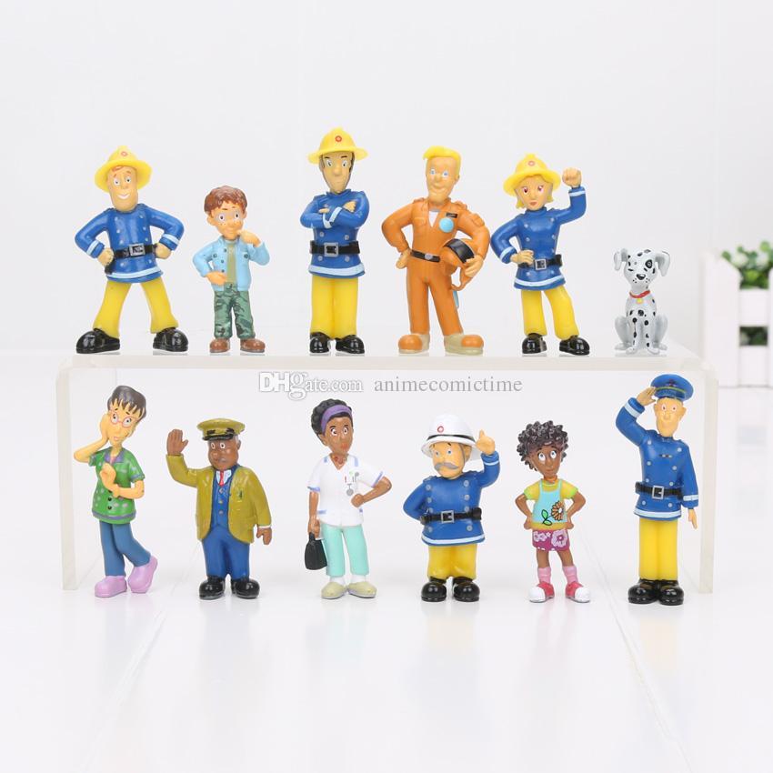 Compre Figura De Acción De Bombero Sam Juguetes Lindo Dibujos Animados  Modelo De PVC Muñecas Colección Juguete Para Niños Regalo 2.5 6cm A  6.3 Del  ... f89de832f77c