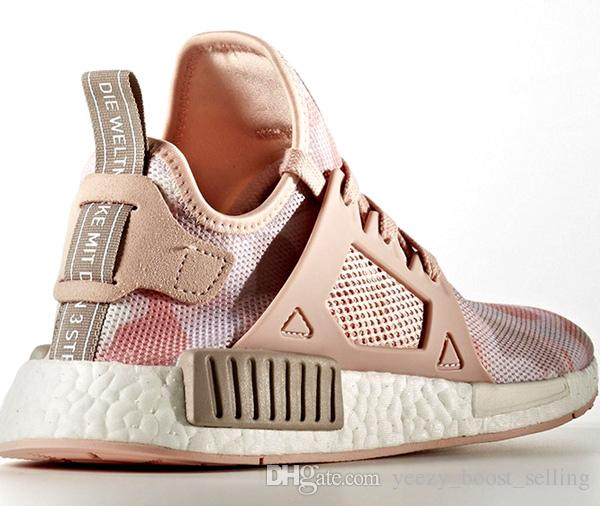 adidas NMD XR1 Women Grey Pink BB3686 NDUCFA