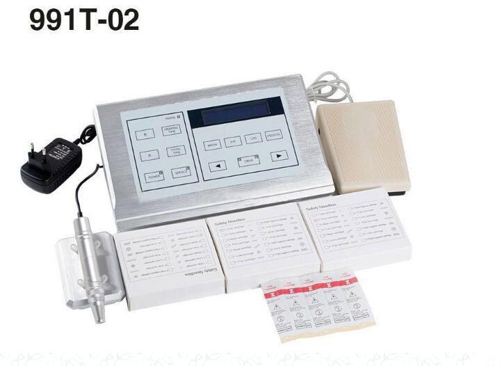 Hot Nouveau Contorno Estilo Multifuncional Kit TattoOpermanent novo 991T-02 Kit de máquina rotativa de maquiagem
