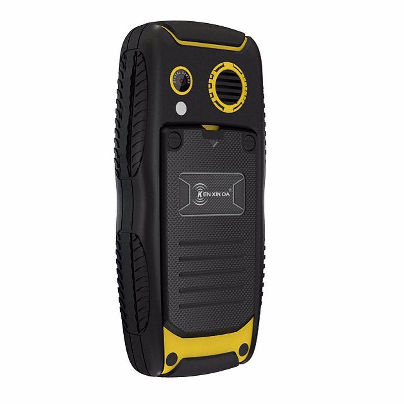 Original Ken Xin Da Proofings W3 Mobile Phone IP68 Waterproof Shockproof Smartphone 2G Dual SIM 2000mAh Battery Cellphone Cheapst phone