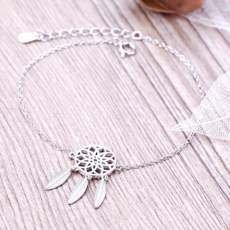 Wholesale Dreamcatcher Charm Bracelet For Women Fashion Feather Unique Dream Catcher Charm Bracelet