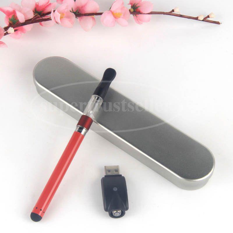 Ecigarette Vaporizer CE3 Open Vape Battery BUD Touch Aluminium Case Kits 510 Thread O Vape Oil Pen Tank CE3 Cartridge Atomizer