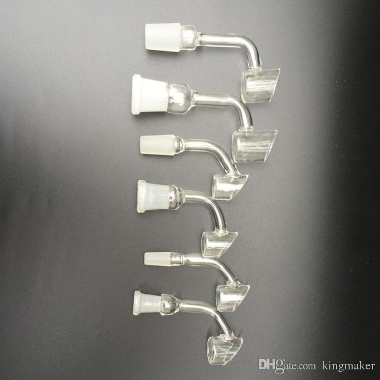 Quartz Banger Nail Domeless Female And Male Joint 10Mm 14Mm 18Mm Also Offer Quartz Titanium Ceramic Glass Nail For Nectar Collector Kit New