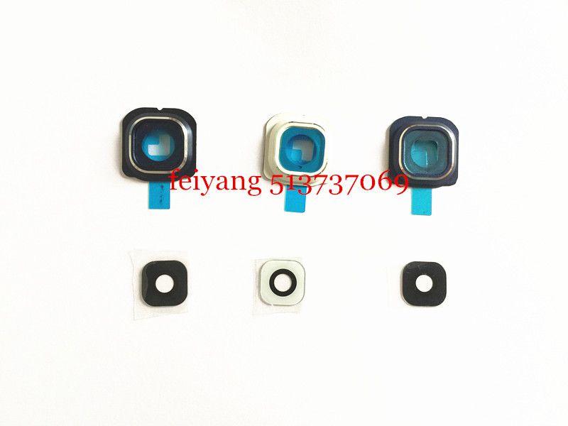 gerçek cam ile Samsung Galaxy s6 G920 / S6 Kenar g925 Geri Arka Kamera Lens Ve Lens Kapak Orijinal yeni