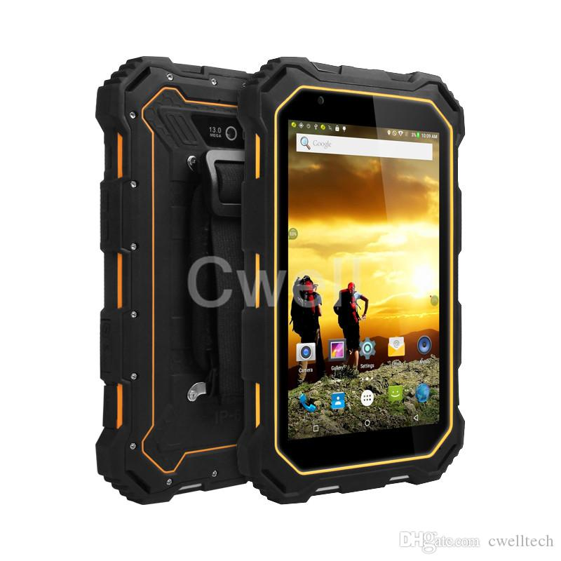 7.0 inch 4G LTE rugged waterproof shockproof tablet pc ALPS S933L MTK6735V quad core 2GB+16GB IP68 7000mAh Android 5.1 phablet