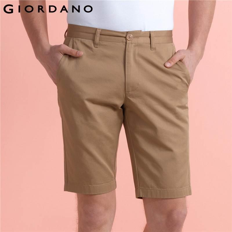 Compre Venda Por Atacado Giordano Homens Shorts Wearable Algodão Bermuda  Men Mid Baixo Crescimento Bermudas Homem Design Simples Pantalones Cortos  De ... d477e1a49a89a