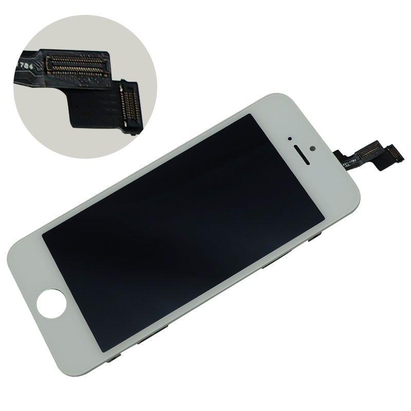 Haute Qualité pour iPhone 5S SE LCD Compatible pour iPhone SE LCD Écran Tactile Digitizer Assembly Noir et Blanc Couleur Emballage Parfait