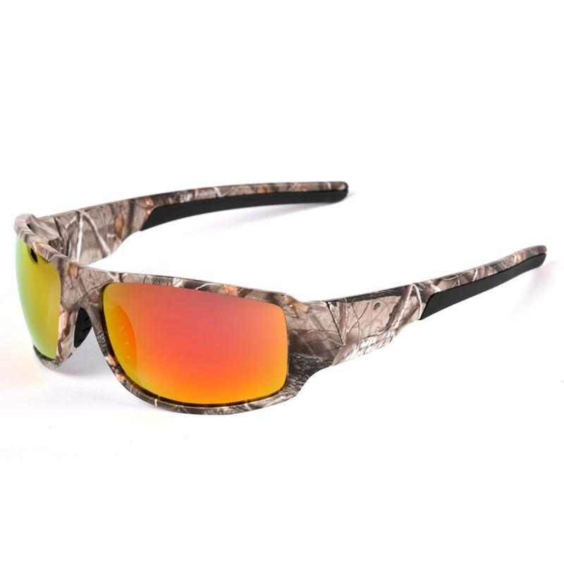 Men\'S Camo Frame Goggle Style Polarized Driving Sun Glasses ...