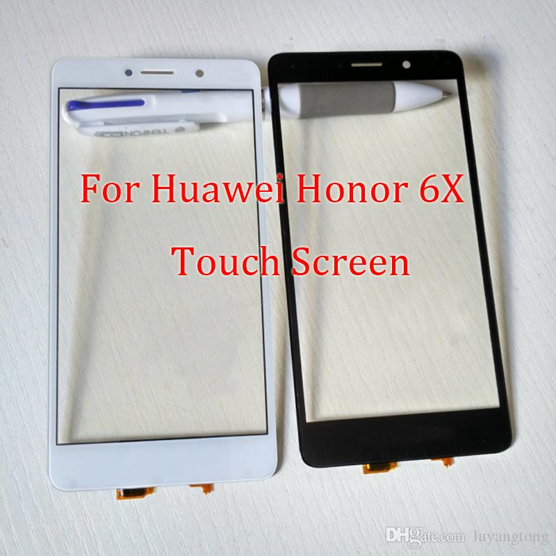For Huawei Honor 6X Outer Glass Cover Replacement for Honor 6X touchscreen  Outer Screen Glass for HUawei Honor 6 X Touch Screen