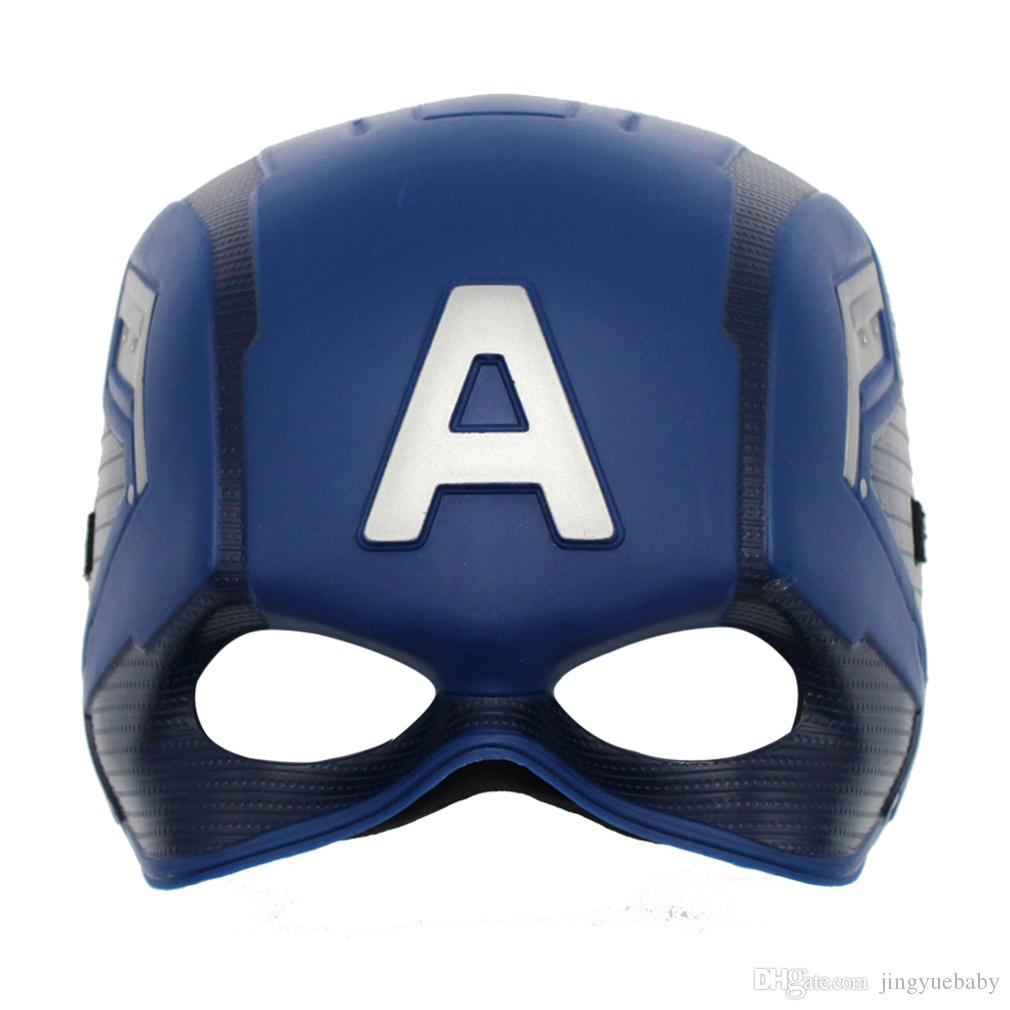 Superhero Cosplay Captain Mask Film Mask Star Role Play Masks